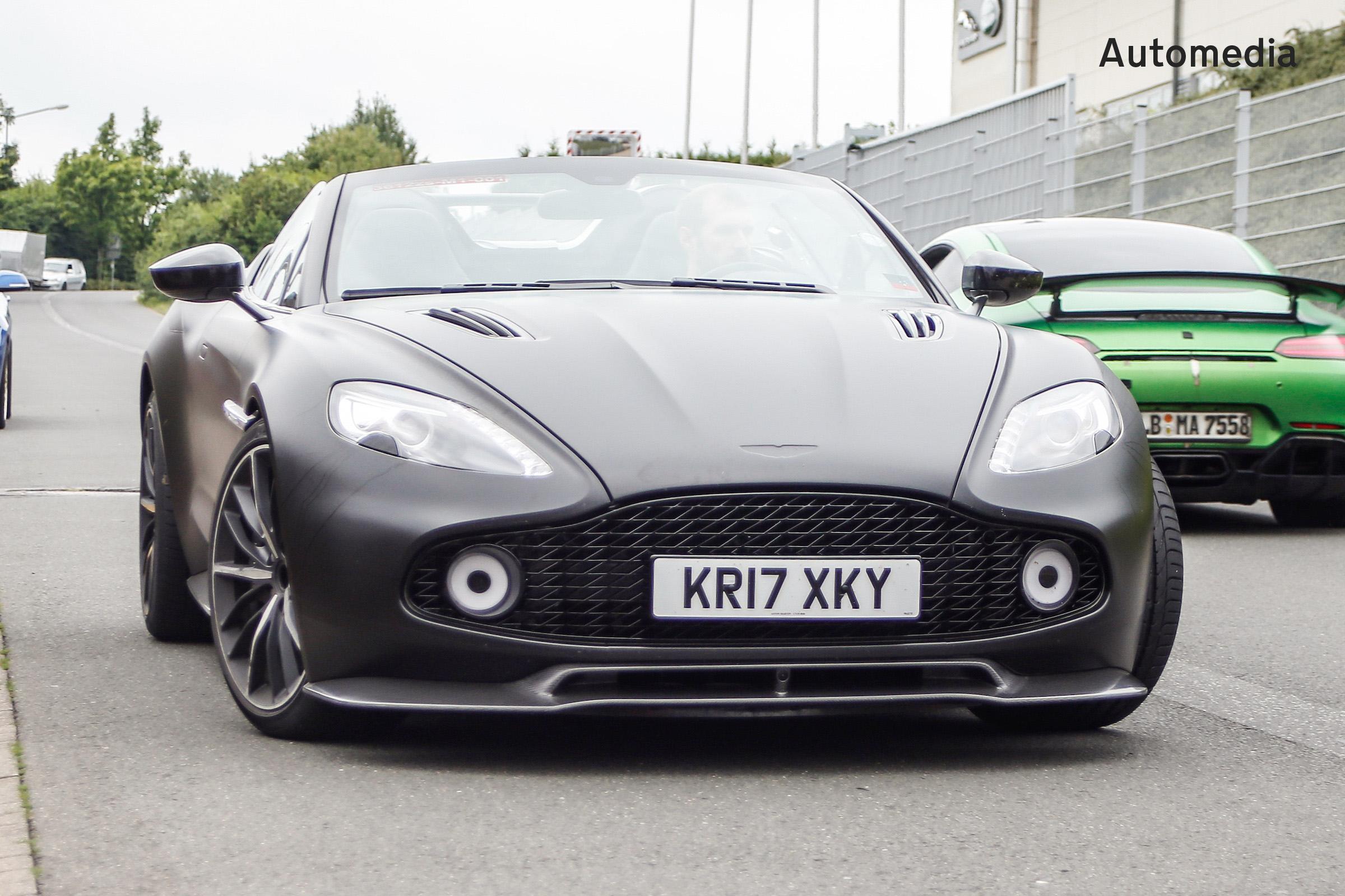 Aston Martin Vanquish Zagato Speedster Gallery Carbuyer