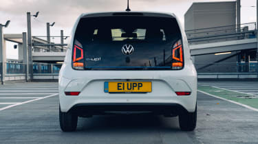 Volkswagen e-up rear end