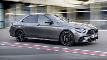Mercedes-AMG E53 saloon driving