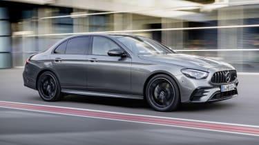 Mercedes-AMG E53 saloon driving