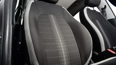 Hyundai i10 hatchback front seats