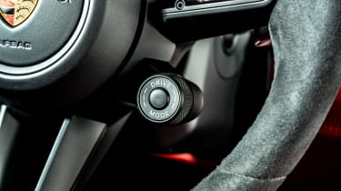 Porsche Panamera hatchback drive mode selector