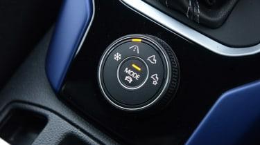 Volkswagen T-Roc R driving mode selector