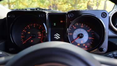 Suzuki Jimny SUV instrument cluster