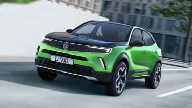 Vauxhall Mokka SUV revealed - front 3/4 tracking