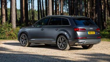 Audi Q7 SUV rear 3/4 static
