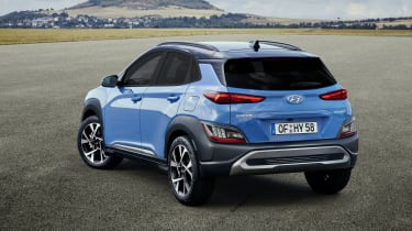 2020 Hyundai Kona - rear 3/4 static