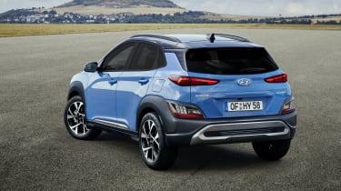 2020 Hyundai Kona - rear 3/4 static