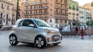 Smart EQ ForTwo hatchback side static square