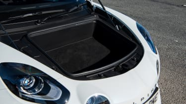 Alpine A110 coupe front luggage compartment