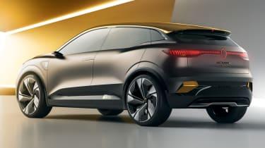 Renault Megane eVision concept rear