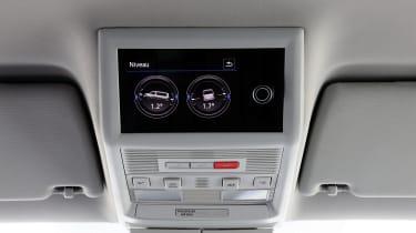 2019 Volkswagen California campervan - pop-up roof digital controls