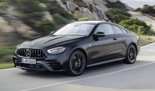 Mercedes-AMG E 53 Coupe driving