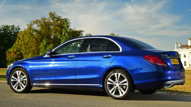 The plug-in hybrid C-Class has rivals including the BMW 330e iPerformance and Volvo V60 Twin Engine