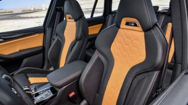 BMW X3 M Competition SUV front seats