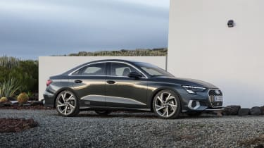 2020 Audi A3 Saloon - front 3/4 static view