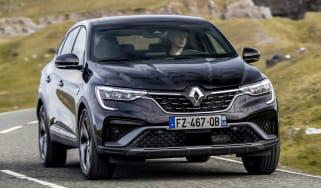 Renault Arkana SUV - front dynamic