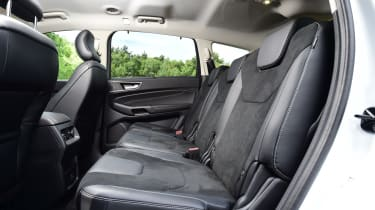 The front five people seated in an S-MAX will be comfortable, but the sixth and seventh seats are best reserved for children.