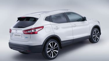 Nissan Qashqai 2014 rear quarter static