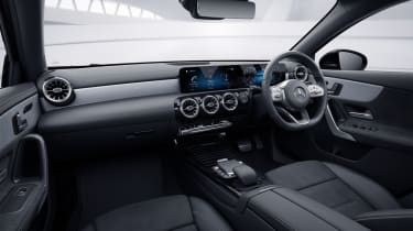 2020 Mercedes A-Class Exclusive Edition and Exclusive Edition Plus -interior static