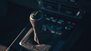 Porsche 911 GT3 gear selector