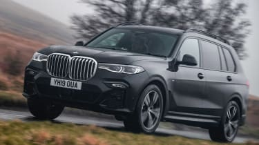 BMW X7 SUV front 3/4