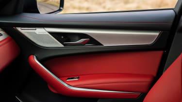 Jaguar F-Pace SUV door grab