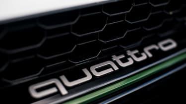 Audi RS5 Sportback quattro badge