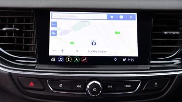 Vauxhall Insignia hatchback infotainment