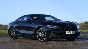 BMW 840d front static