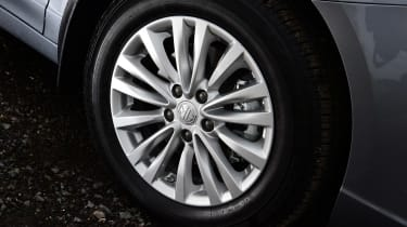 MG 5 EV estate alloy wheels
