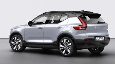 Volvo XC40 Recharge rear 3/4
