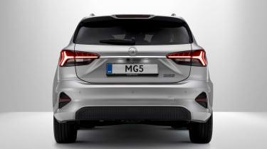 New MG 5 EV rear end