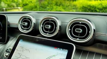 Mercedes C-Class Estate dashboard