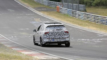 Volkswagen Golf GTI testing - rear view