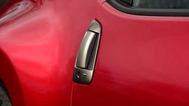 Nissan 370Z coupe door handles