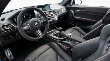 BMW M2 CS interior - side view
