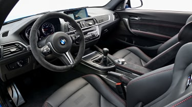 BMW M2 CS interior - side view
