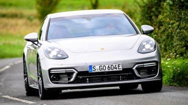 Porsche Panamera hatchback front cornering