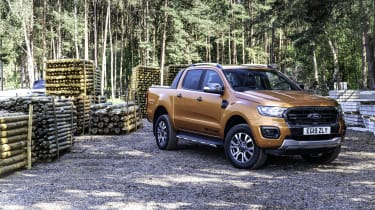 2019 Ford Ranger Wildtrak - front 3/4 static at work