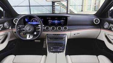 Mercedes-AMG E53 interior - cream