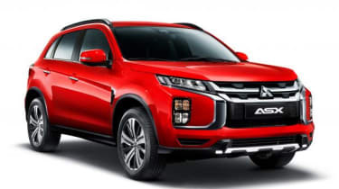 Mitsubishi ASX 2019 cut out