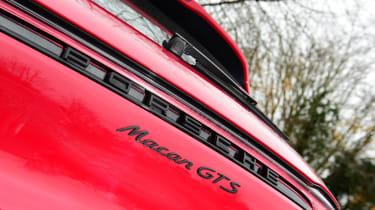 Porsche Macan SUV rear badge