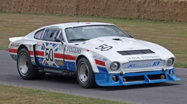 An Aston Martin DBS V8 held the caravan speed record