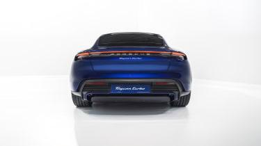 2020 Porsche Taycan - rear low angle view