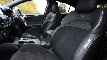 Ford Focus ST hatchback front seats