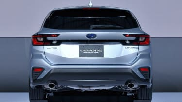 2020 Subaru Levorg - rear end