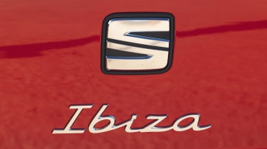 SEAT Ibiza hatchback badge
