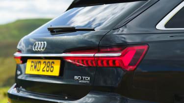 Audi A6 Avant tail-light
