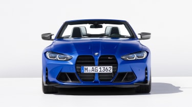 2021 BMW M4 Competition Convertible M xDrive - front on